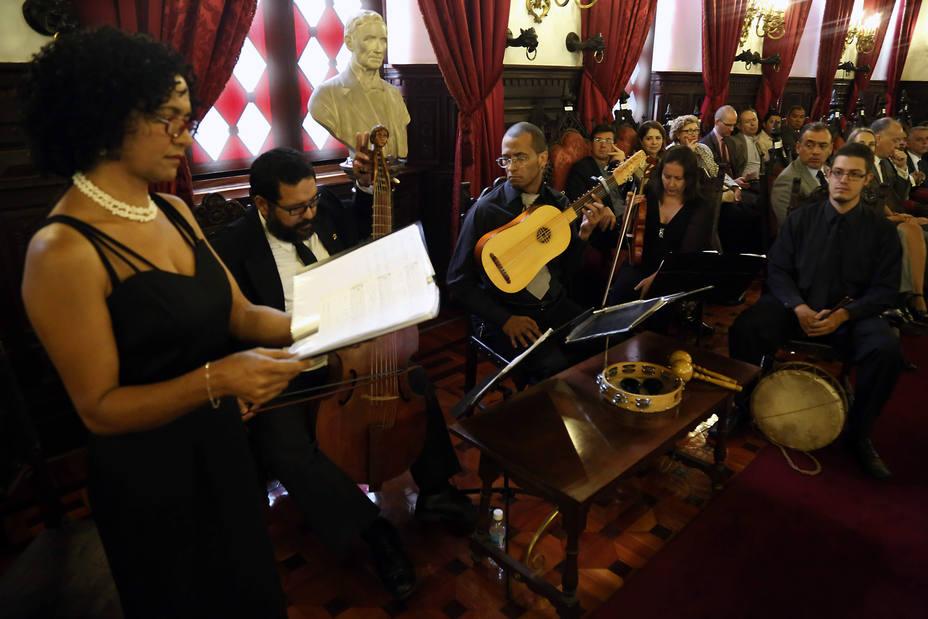 Acto Centenario de Cervantes en el Palacio de Las Academia encabezado y organizado en conjunto con la Embajada de España en Venezuela Fotos Gabriela Pulido Ccs 01 de abril  2016