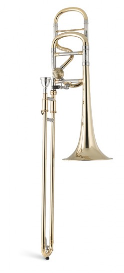 Trombón Alto Titán Mib/Sib con transpositor Image