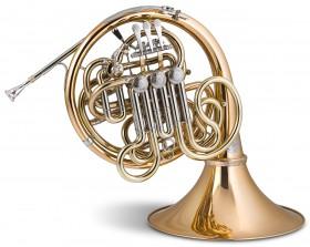 Trompa Titán CINCO Sib/Fa Gold brass Image