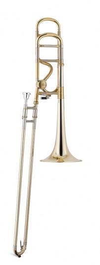 Trombón Tenor Titán Sib/Fa Bellflex 1 rosca Image
