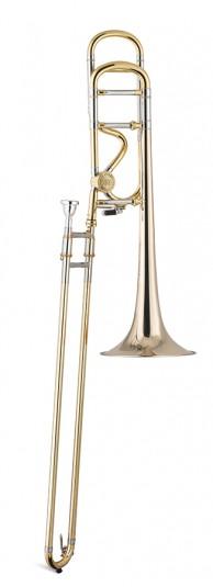 Trombón Tenor Titán Sib/Fa Bellflex 2 roscas Image