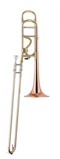 Trombón Tenor Titán Sib/Fa Cobre 1 rosca Image