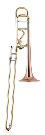 Trombón Tenor Titán Sib/Fa Cobre 2 roscas Image